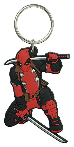Marvel Deadpool Soft Touch PVC Key Ring Key Accessories