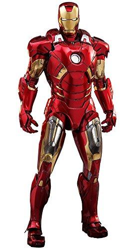 Hot Toys Iron Man Mark VII 7 DIECAST Marvel Avengers 1/6 Scale Figure