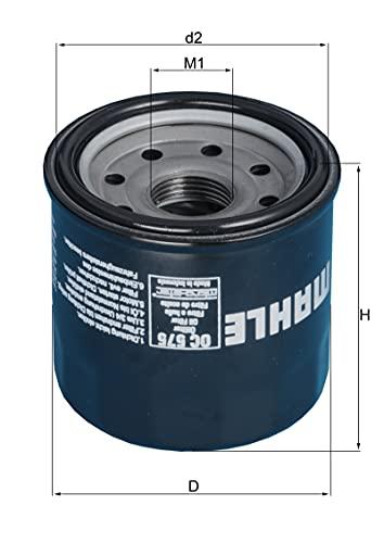 MAHLE Original OC 575 Oil Filter