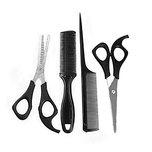 Youool Professionelle Friseur Friseur Schere Kit, gerade Schere, Zahnschere und 2 Stück Kämme