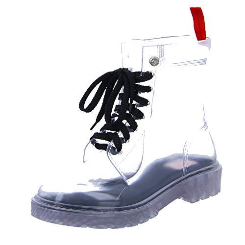 GOSCH SHOES Damen Boots Schuhe Stiefel Wasserfest durchsichtig7105-150-0 in PVC (36 EU)