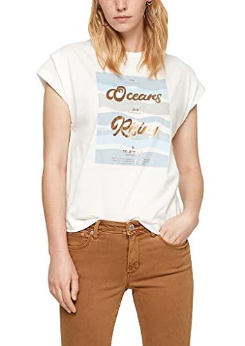 s.Oliver Damen 120.10.108.12.130.2104898 T-Shirt, 02D1, XL