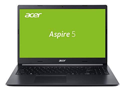 Acer Aspire 5 (A515-54G-77SX) 39,6 cm (15,6 Zoll Full-HD IPS matt) Multimedia Laptop (Intel Core i7-10510U, 8 GB RAM, 512 GB PCIe SSD, NVIDIA GeForce MX250, Win 10 Home) schwarz