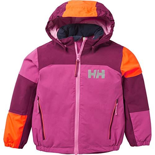 Helly Hansen K Rider 2 Ins Jacket Chaqueta Con Doble Capa, Niños, Magenta Haze, One size
