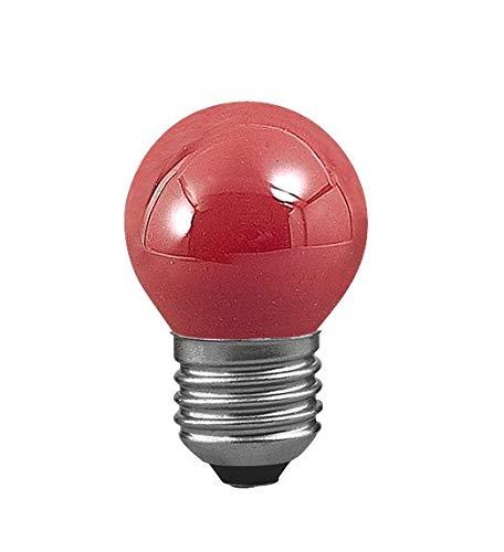 Paulmann 401.31 Tropfe Glühbirne 25W E27 45mm Rot 40131 Leuchtmittel