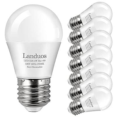 Amazon - 40% Off on LED Bulb 3W 25 Watt Equivalent , Night Stand Bulb Table Lamp Bulb