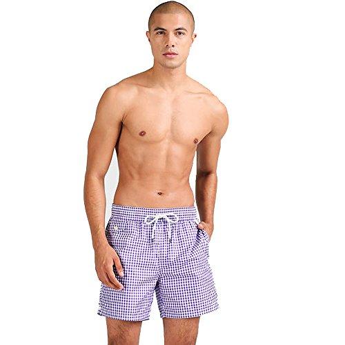 Ralph Lauren bañador para Hombre (XL, Lavander)