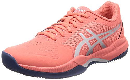 ASICS Gel-Game 7 Clay/OC, Scarpe da Tennis Donna, Pink Papaya Silver 704, 37 EU