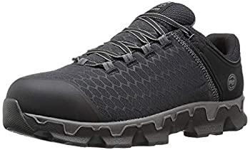 Timberland PRO Men s Powertrain Sport Alloy Safety Toe Electrical Hazard Athletic Work Shoe Black Synthetic 12