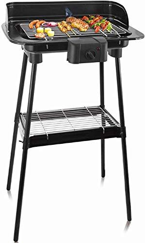 Elektrischer BBQ Grill Standgrill Elektrogrill 2000W Barbecue Tischgrill Balkongrill Partygrill