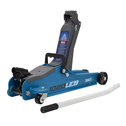 Sealey 1020LEB Wagenheber mit niedrigem Einstieg, 2 Tonnen, Blau