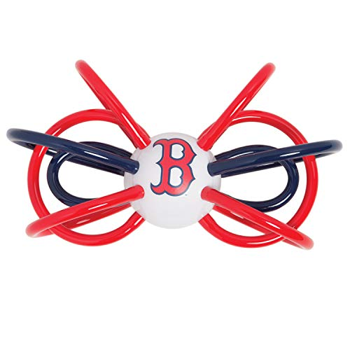 Baby Fanatic MLB Boston Red Sox Unisex BRS440Teether/Rattle - Boston Red Sox, See Description, See Description Boston Red Sox Center