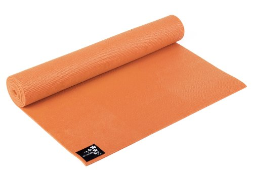 Yogistar Basic Materassino da Yoga, Arancione (Mango)