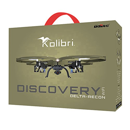 Kolibri Discovery Delta-Recon U818A WiFi FPV Quadcopter Drone Tactical Edition Military Matte Green...