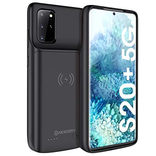 Samsung Galaxy S20 Plus Cover Batteria, 6000mAH Custodia Ricaricabile Cover Caricabatterie Esterna Batteria per Galaxy S20 Plus Power Bank Charger Case...