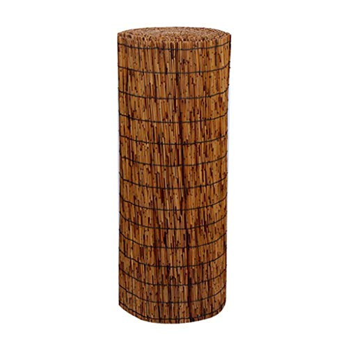 SUNSHADE Reed Mat Privacy Screen Natural Reed Screening Fence Wall for House Garden and Balcony