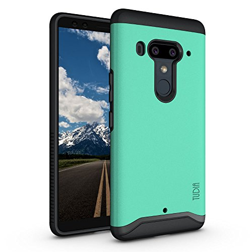 HTC U12 Plus/HTC U12 + (2018) Hülle, TUDIA Slim-Fit Merge Dual Layer Schutzhülle für HTC U12 Plus/HTC U12 + (2018) (Minze)