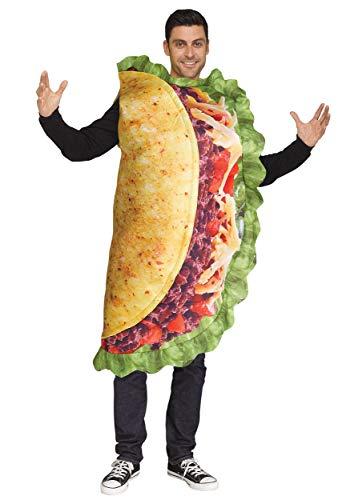 Fun World Realistic Adult Taco Costume Standard