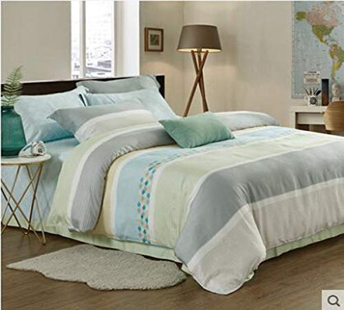 Read About HUROohj Cotton,The New Bedding Four Sets,European Style£¬Bedding Kits£¨ 4 Pcs£for Bed Size Twin/Queen/King,£­King