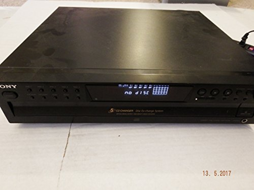 Sony CDP-CE375 5-Disc Carousel-Style CD Changer (Discontinued by Manufacturer) NO REMOTE