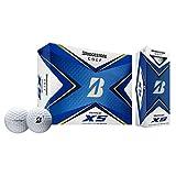 (タイガー使用)ブリヂストンゴルフ TOUR B XS ゴルフボール 1ダース USA直輸入品 ホワイト