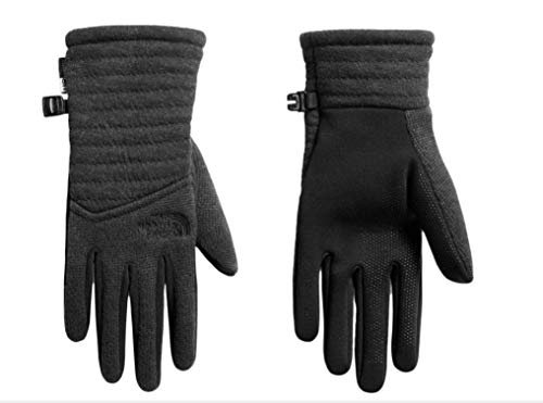 The North Face Womens Indi Etip Gloves (TNF Black Heather, Medium)