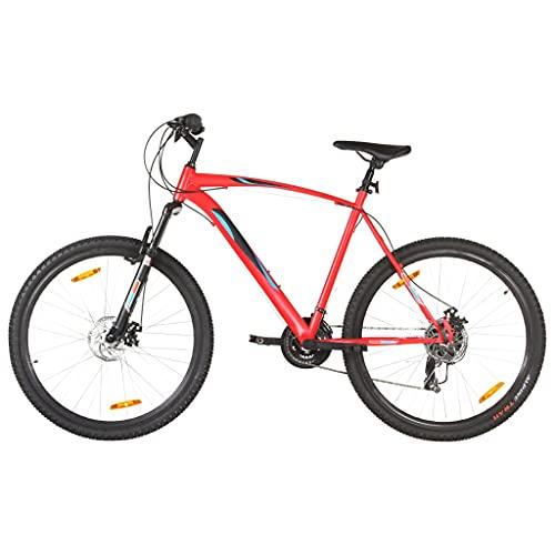 "vidaXL Mountain Bike 21 Speed 29"" Ruote 53 cm Rosso"