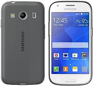a570ebd2e74 Funda de Silicona (TPU) Transparente Negro para Samsung Galaxy Ace Style  LTE G357