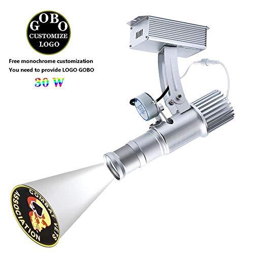 Aione 30W GOBO Strahler HD Zeigen Projektor Visuelle Werbung Display Beamer LED Bild Licht Drehbares Und statische Funktionen Angebot 1 Farbe Brauch Frei gobos