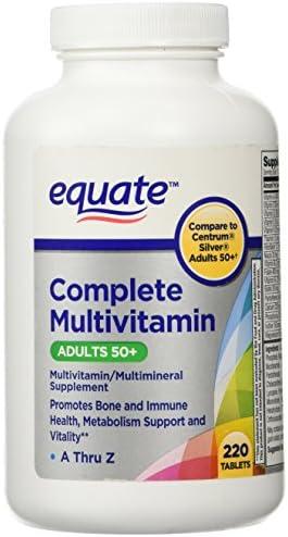 Equate Mature Adults 50+ Multivitamin 220 c