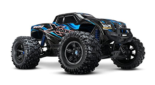 Traxxas X-Maxx 4WD Brushless Electric Monster RTR Truck with TQi 2.4GHz Radio & Self-Righting, Blue