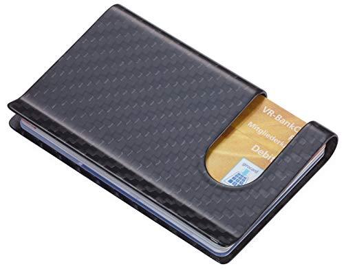 TROIKA(トロイカ) リアルカーボンファイバー クレジットカードケース カーボンケース TR-CCA30-CB カードケース カードクリップ