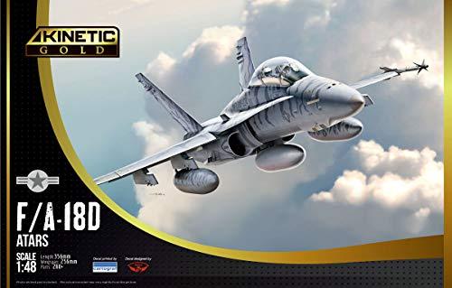 キネティック 1/48 アメリカ海兵隊 F/A-18D ATARS プラモデル KNE48033