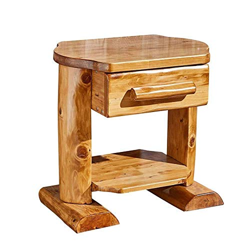N/Z Daily Equipment Bedside Tables Side Table Coffee Table Solid Wood Storage Cabinet Living Room Desk Children's Small Table Living Room Coffee Table Side End Table