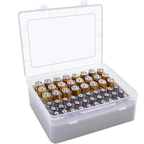 Batterie Aufbewahrungsbox - Batteries Organisator Tasche - Garage Organisation Hält Batteries AA AAA