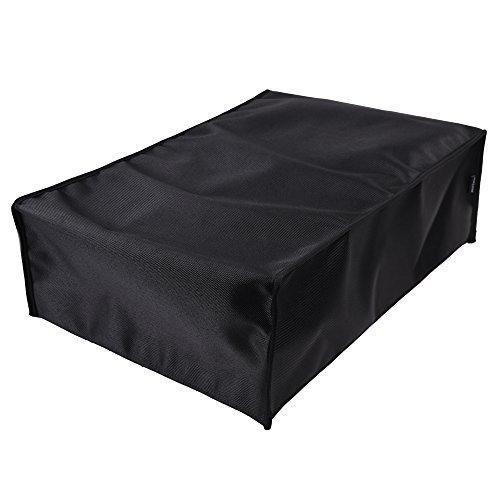 Case Star Black Color Nylon Anti Dust Protective Cover Sleeve For Epson Photo Scanner v700 / v750