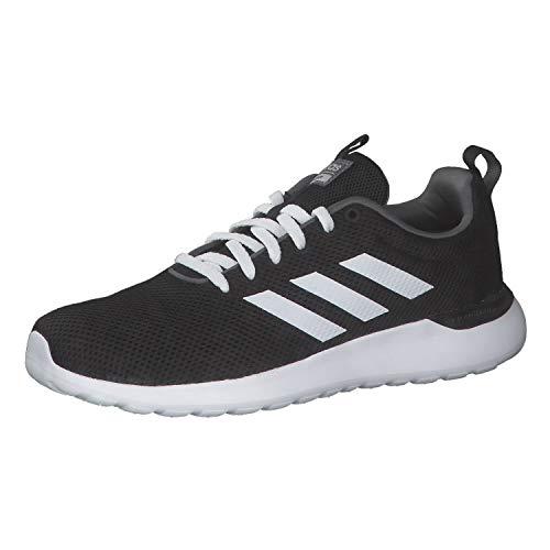 adidas Herren Lite Racer CLN Sneaker, Core Black/Cloud White/Grey, 44 EU