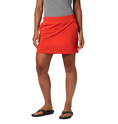 Columbia Chill River Jupe Femme Bright Poppy FR : XS (Taille Fabricant : XS)