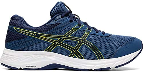 ASICS Men s Gel Contend 6 Running Shoes 10 5M Grand Shark Vibrant Yellow product image
