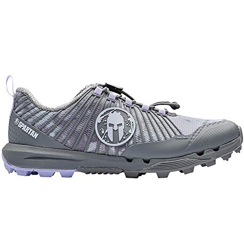 Spartan Race by Craft RD PRO OCR Running Shoe - Women's (Heather/Monument, Numeric_8)