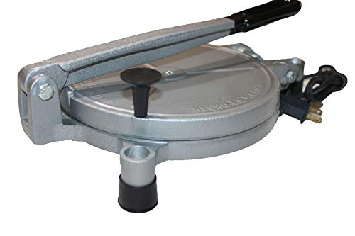 Electric Tortilla Press Maker Chapati Machine Flour Burrito (8 IN)