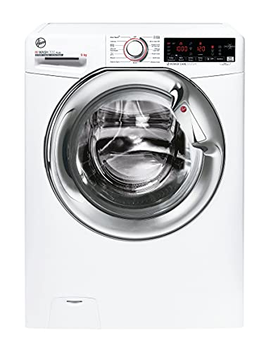 Hoover H3WS 69TAMCE-80 9kg 1600rpm Washing Machine, White with Chrome door