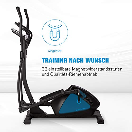 Capital Sports Helix Track Crosstrainer mit Trainingscomputer - 7