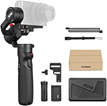 Zhiyun Crane-M2 3-in-1 Handheld Gimbal Stabilizer for Smartphone/Sport Action Cameras/Light Weight Mirrorless DSLR Cameras, 3-Axis All-in-One