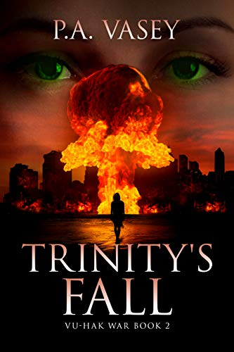 Trinity's Fall by PA Vasey ebook deal