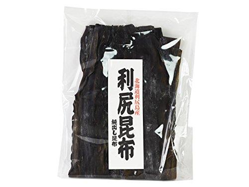 利尻昆布 500g (北海道利尻産) 京都高級料亭御用達のりしりこんぶ (純出し昆布) 上品な出汁が取れるリシリコンブ (三大出汁昆布)