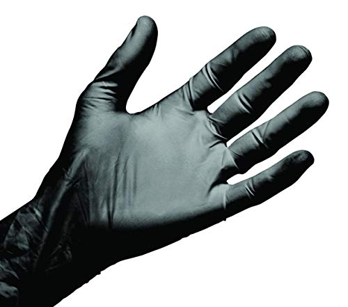 LCH 72400 - Nitriskin Black Evolution Libre De Polvo 100 Guantes De Nitrile...