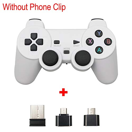 for PS3 Wireless Gamepad 2.4G USB Joystick for Android Phone/PC/PS3/TV Box Joypad Game Controller for Xiaomi Smart Phone White
