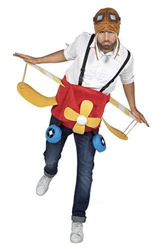 Wilbers & Wilbers Kinder Unisex Kostüm Flugzeug Karneval Fasching Gr. STD