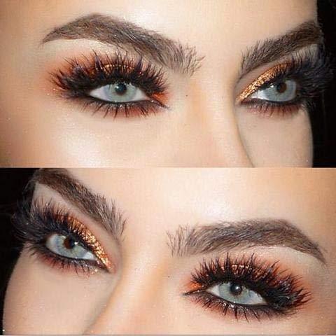 Freshlady Hidrocor Jahreslinsen: natürliche, farbige Kontaktlinsen, deckende Kontaktlinsen für dunkle Augen: Blau, grau, grün, braun (Ice)